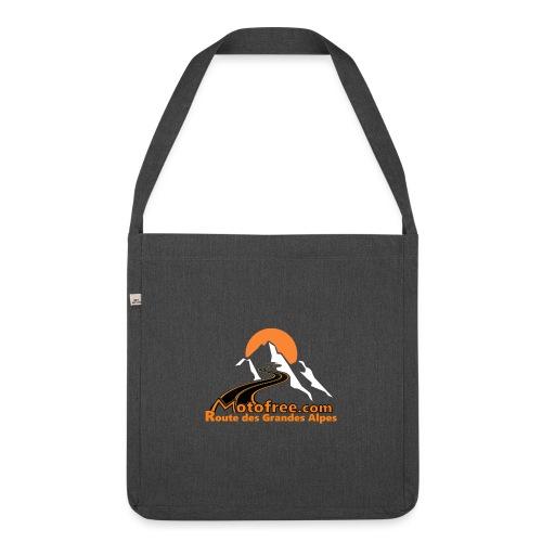 logo motofree orange - Sac bandoulière 100 % recyclé