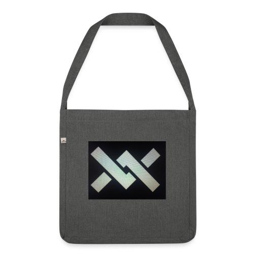 Original Movement Mens black t-shirt - Shoulder Bag made from recycled material