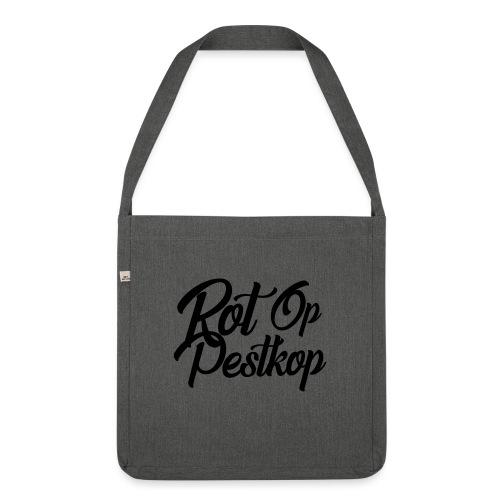 Rot Op Pestkop - Curly Black - Schoudertas van gerecycled materiaal