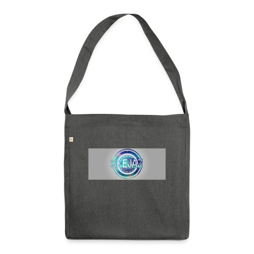 LOGO WITH BACKGROUND - Shoulder Bag made from recycled material