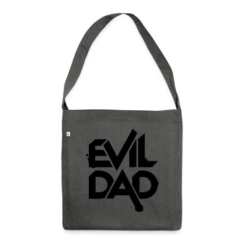 Evildad - Schoudertas van gerecycled materiaal