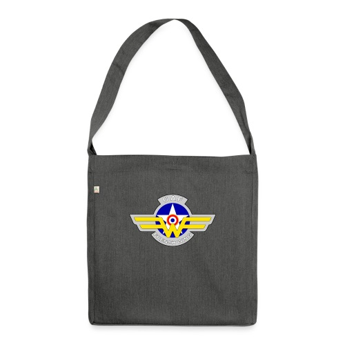 Logo French Wing - Sac bandoulière 100 % recyclé
