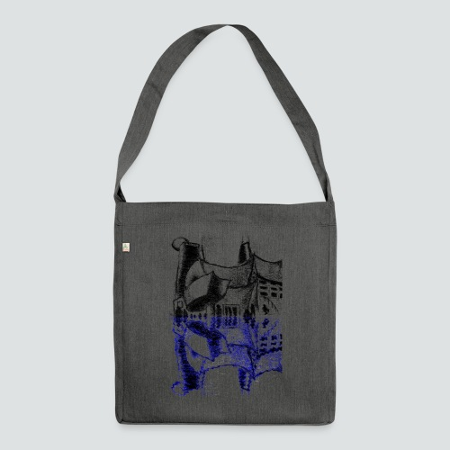 Concert Hall 3 png - Schultertasche aus Recycling-Material