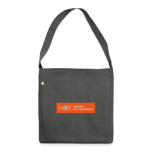 H.O.T. Logo - Schultertasche aus Recycling-Material