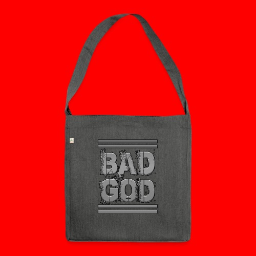 BadGod - Shoulder Bag made from recycled material