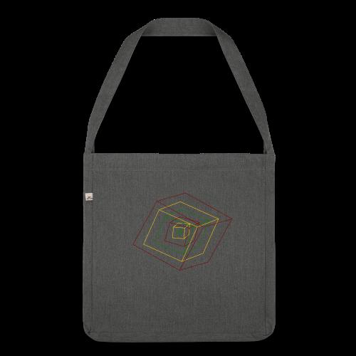 Rasta Cubes - Sac bandoulière 100 % recyclé