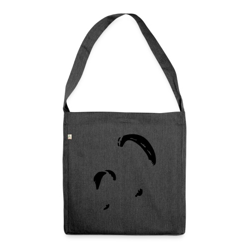 Gleitschirme - Up in the Sky - Schultertasche aus Recycling-Material