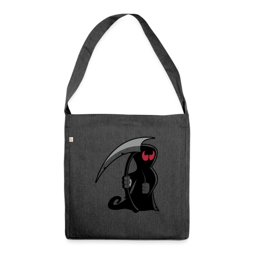 death - Borsa in materiale riciclato
