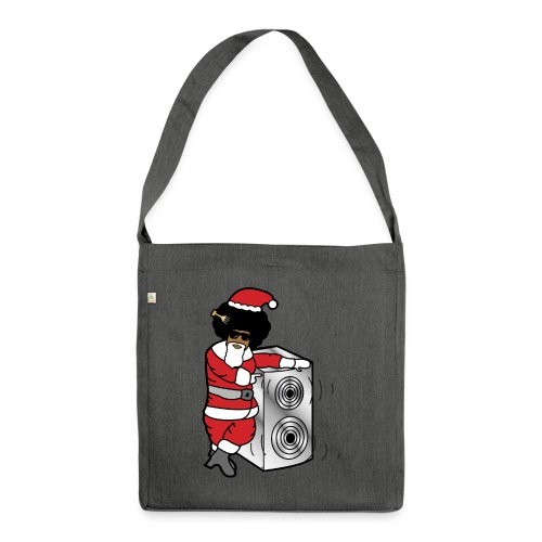 Afro Santa w/ Music Speaker - Shoulder Bag made from recycled material