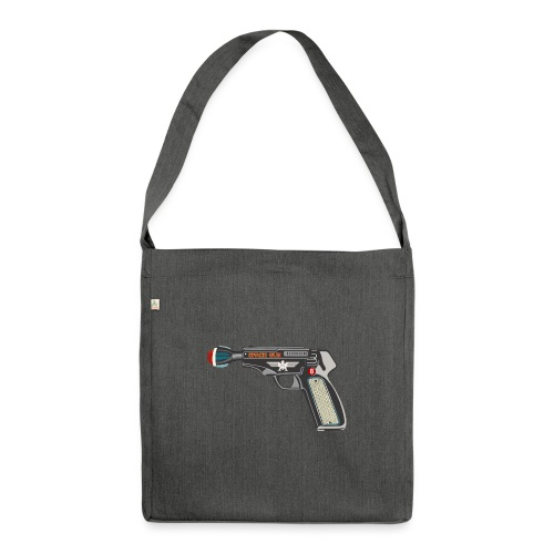 SpaceGun - Shoulder Bag made from recycled material