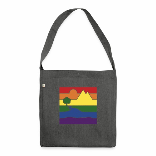 GOC Logo No Text - Shoulder Bag made from recycled material