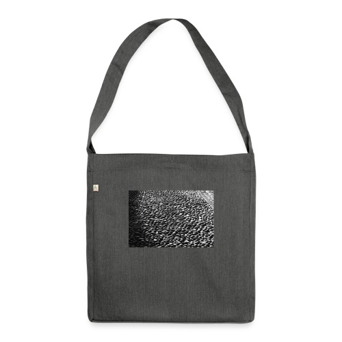 cobblestone shirt - Schoudertas van gerecycled materiaal
