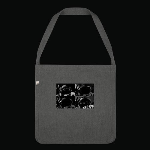 black bafti crew - Skuldertaske af recycling-material