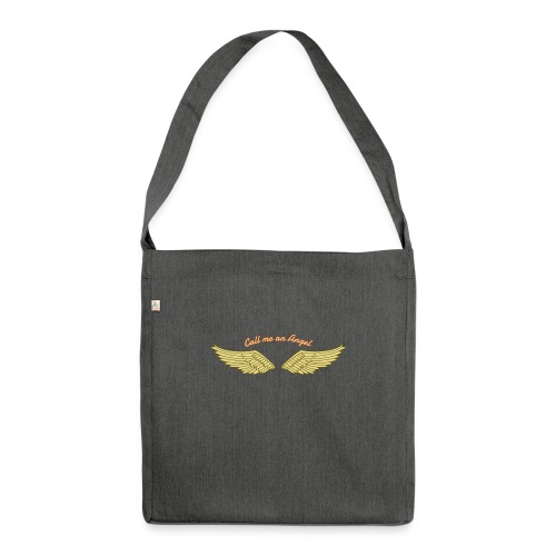Angel - Schultertasche aus Recycling-Material