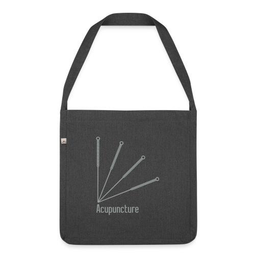 Acupuncture Eventail vect - Sac bandoulière 100 % recyclé