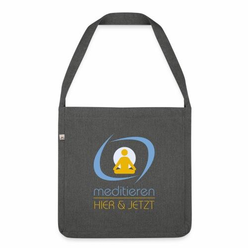 MeditierenHierJetzt.ch - Schultertasche aus Recycling-Material