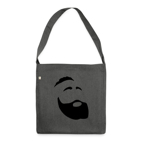Il Barba, the Beard black - Borsa in materiale riciclato