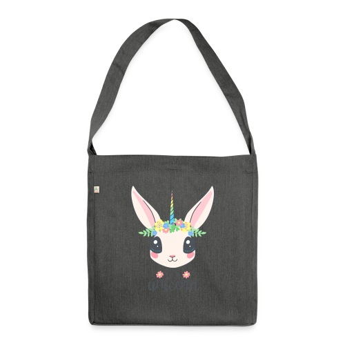 I am Unicorn - Schultertasche aus Recycling-Material