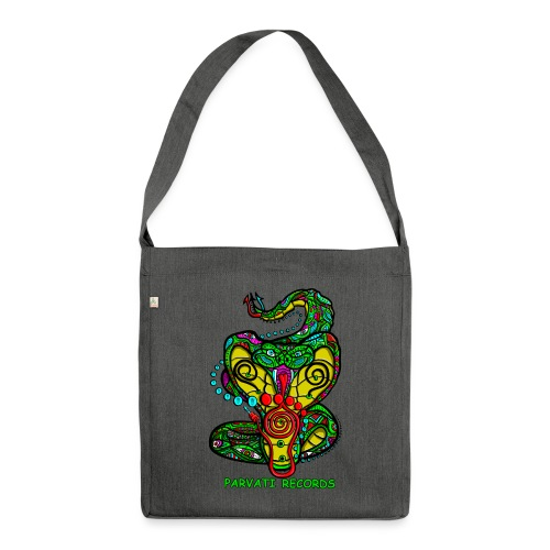 Parvati Records Cobra logo by Juxtaposed HAMster - Shoulder Bag made from recycled material