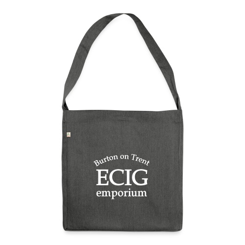 logo tans website - Shoulder Bag made from recycled material