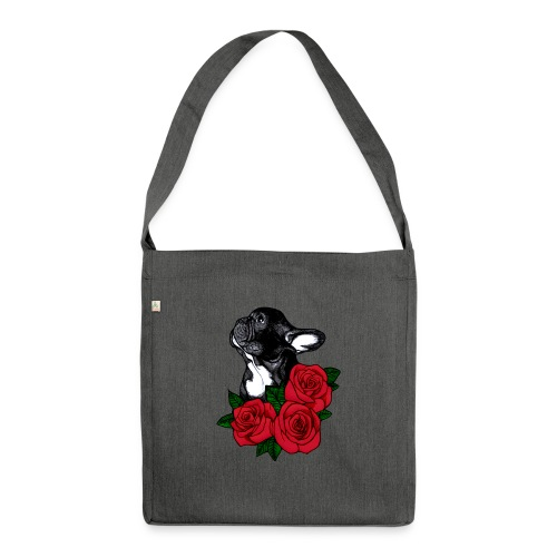 The French Bulldog Is So Famous - Shoulder Bag made from recycled material