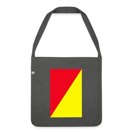 Anima giallo-rosso - Borsa in materiale riciclato