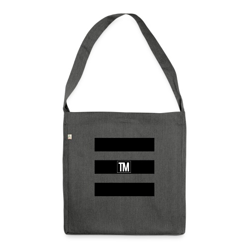 bars - Shoulder Bag made from recycled material