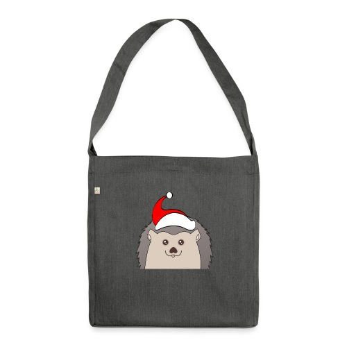 Weihnachts Hed - Schultertasche aus Recycling-Material