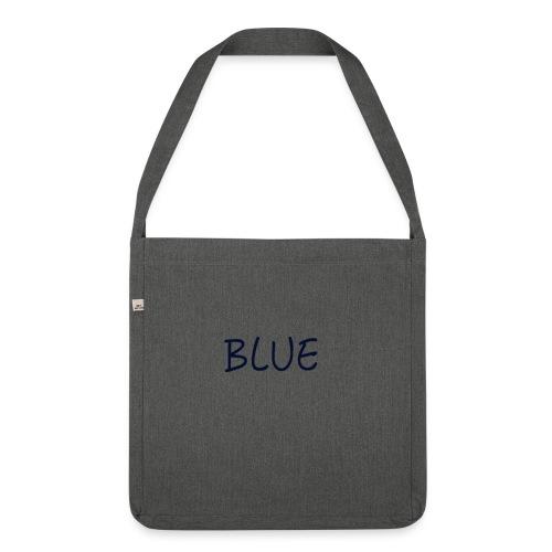 BLUE - Schoudertas van gerecycled materiaal