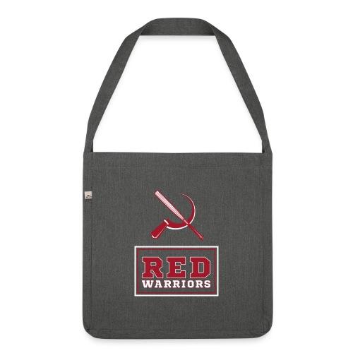 Red Warriors Logo2 - Sac bandoulière 100 % recyclé