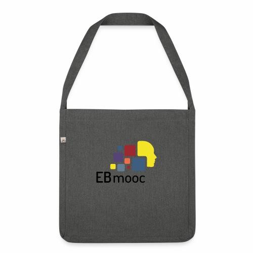 EBmooc Logo - Schultertasche aus Recycling-Material