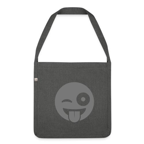 Emoji - Schultertasche aus Recycling-Material