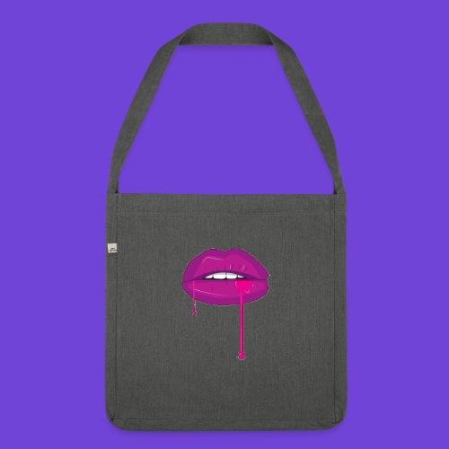 Purple Kiss - Borsa in materiale riciclato