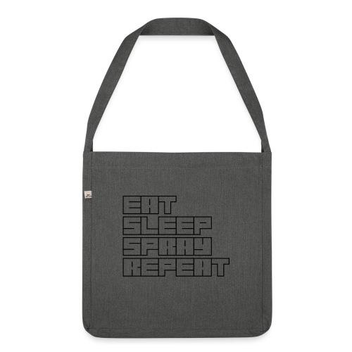 EATSLEEPSPRAYREPEAT - Shoulder Bag made from recycled material