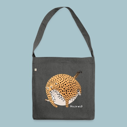 Rollin'Wild - Cheetah - Shoulder Bag made from recycled material