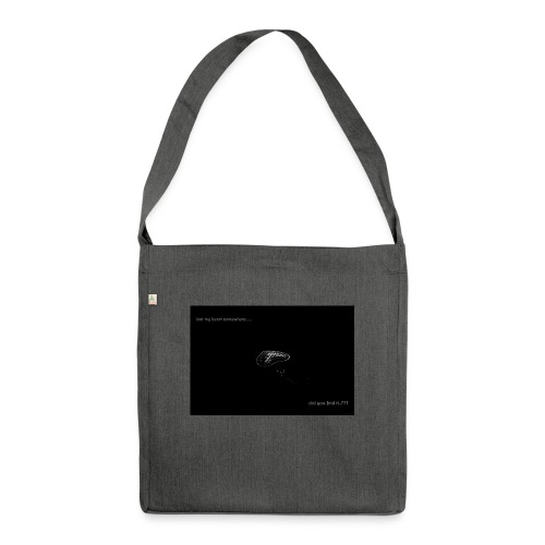 Lost Ma Heart - Shoulder Bag made from recycled material