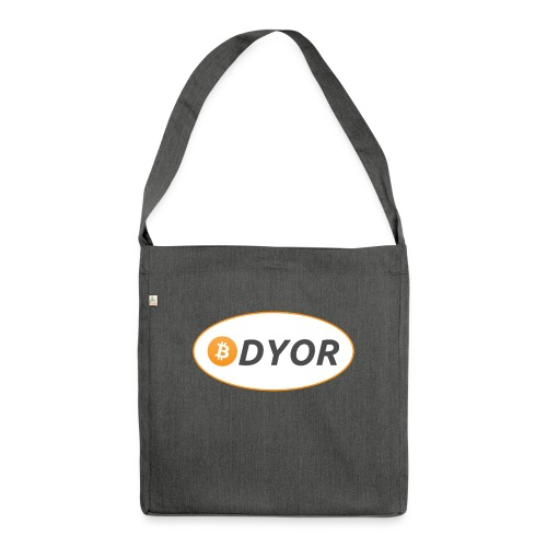 DYOR - option 2 - Shoulder Bag made from recycled material