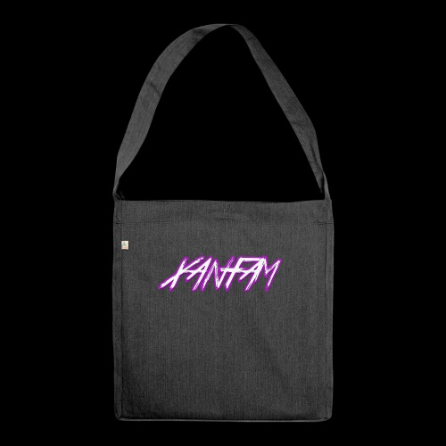 XANFAM (FREE LOGO) - Schultertasche aus Recycling-Material
