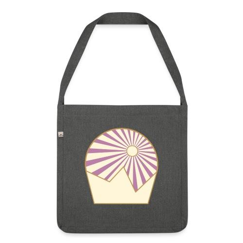 Logo Sun and Mountain - Schultertasche aus Recycling-Material