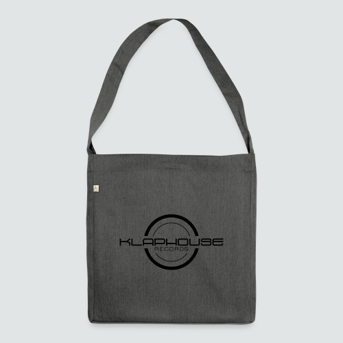 Klaphouse Records - Shoulder Bag made from recycled material
