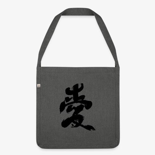 Japanese Kanji - Borsa in materiale riciclato