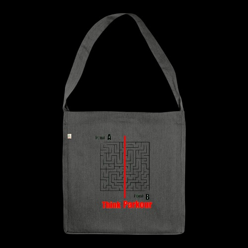 maze - Shoulder Bag made from recycled material