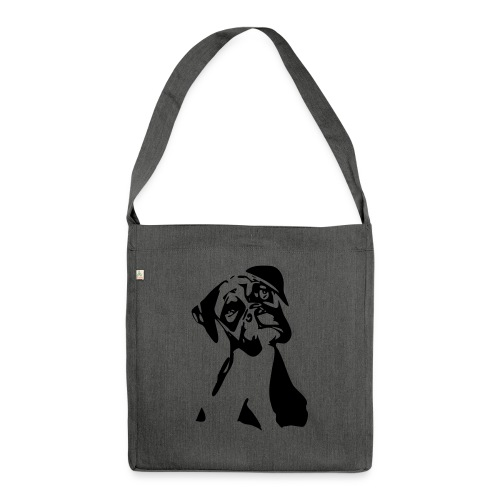 Boxer - Schultertasche aus Recycling-Material
