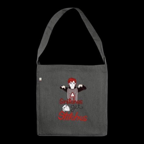 SGS Creepy Smile - Schultertasche aus Recycling-Material