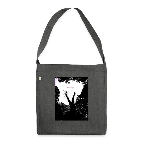 Scarry / Creepy - Shoulder Bag made from recycled material