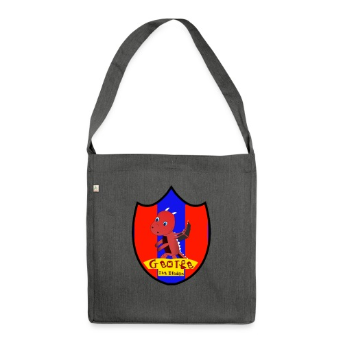 George The Dragon - Shoulder Bag made from recycled material