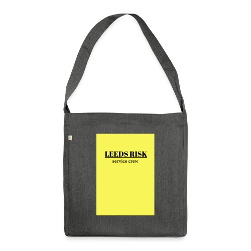 leeds risk - Shoulder Bag made from recycled material
