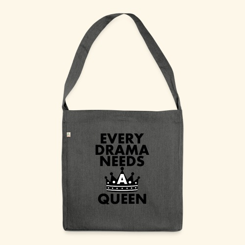 EVERY DRAMA black png - Shoulder Bag made from recycled material