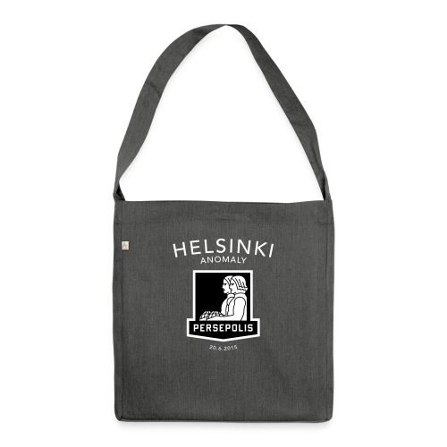 Persepolis Helsinki AI - Shoulder Bag made from recycled material