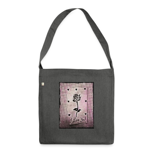 Love Blossom - Shoulder Bag made from recycled material